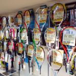 テニス売場